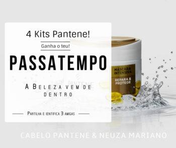 Passatempo Pantene da blog Neuza Mariano