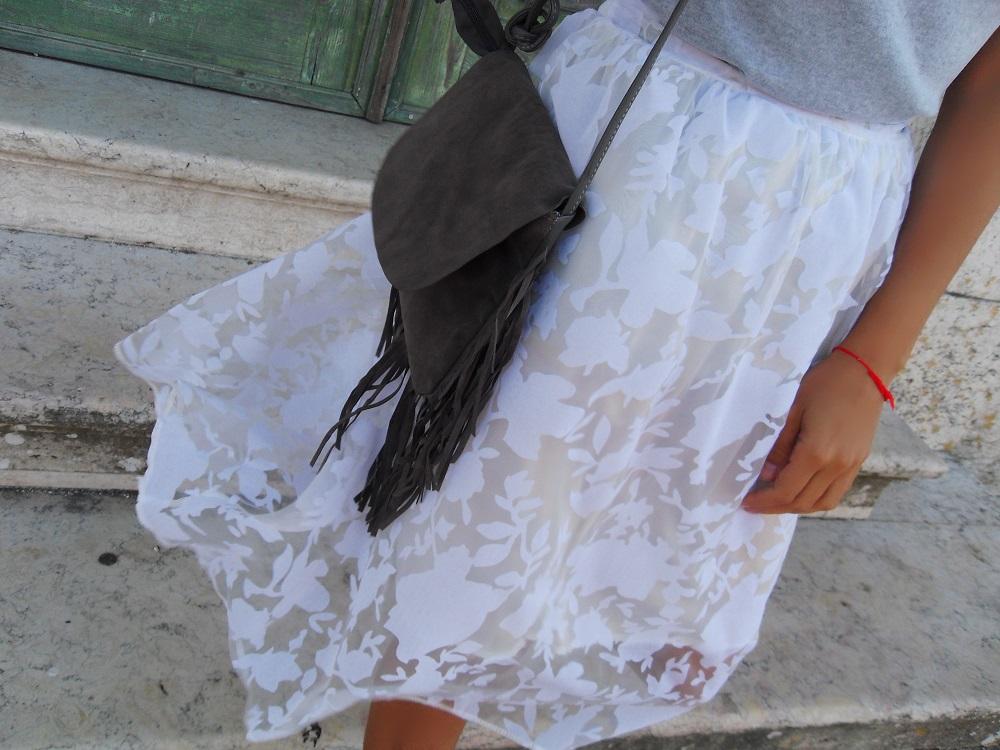 Outfit do dia | Saia retro tutu