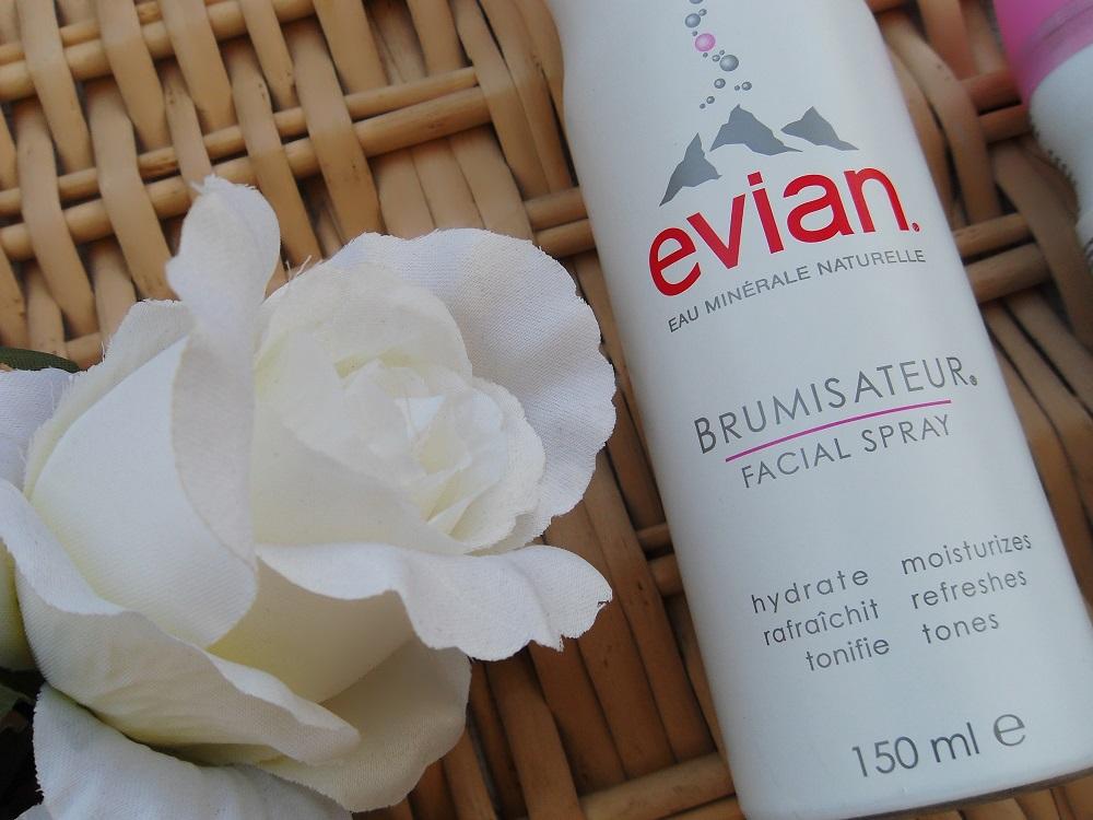 Água Termal Mineral Spray Evian Brumisateur
