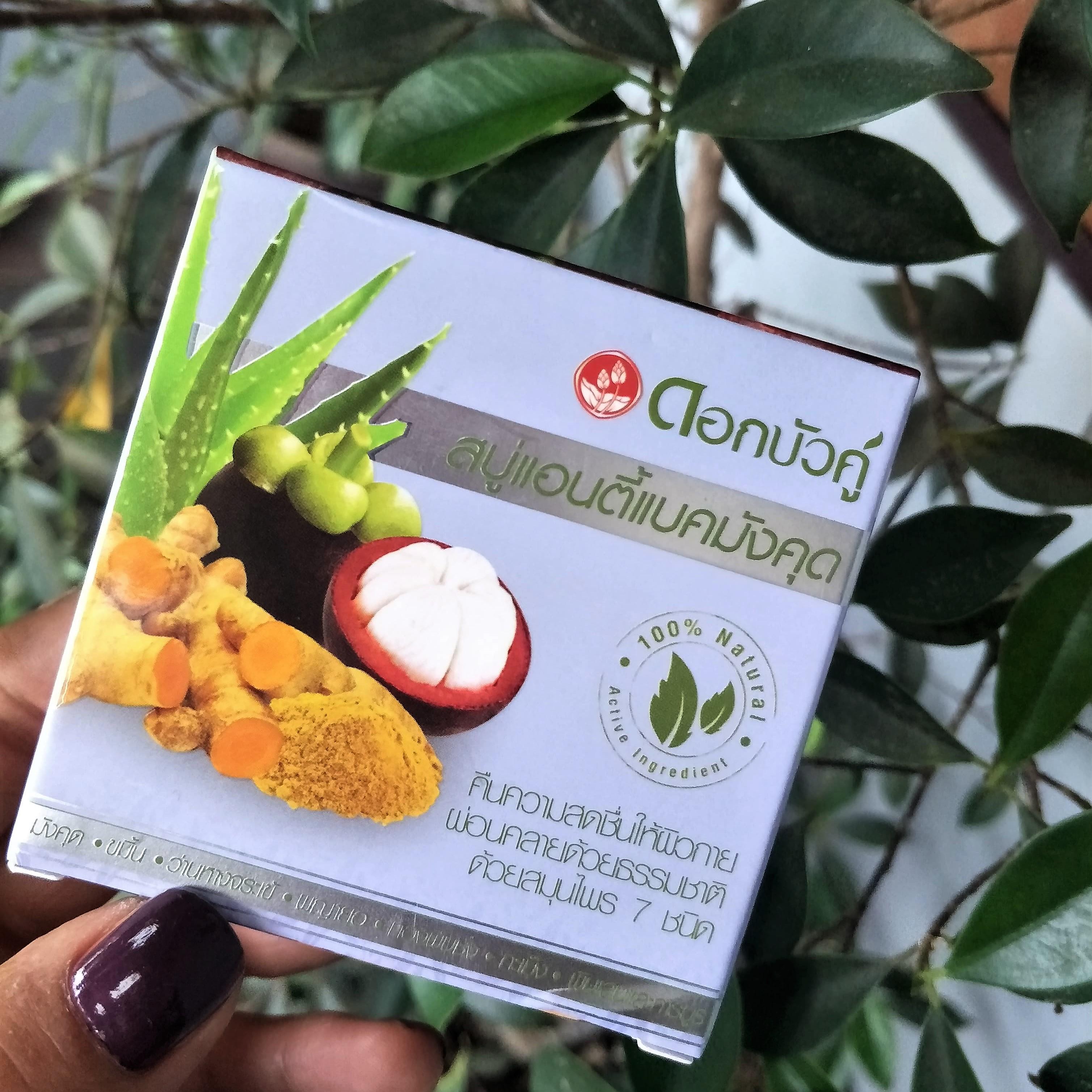 Sabonete natural de mangostão