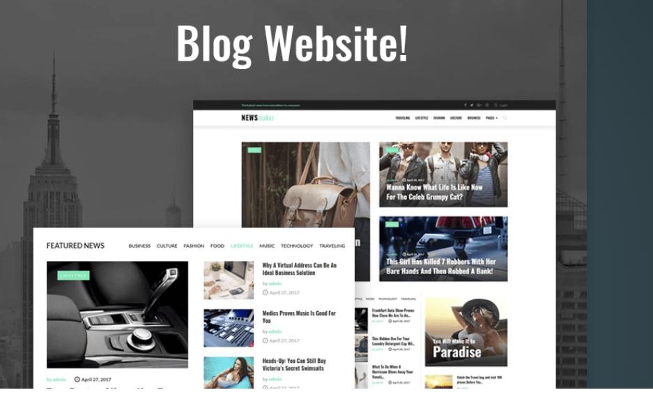 Template para o teu site