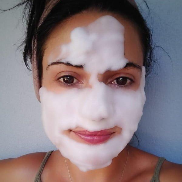 Máscara Facial de Bolhas