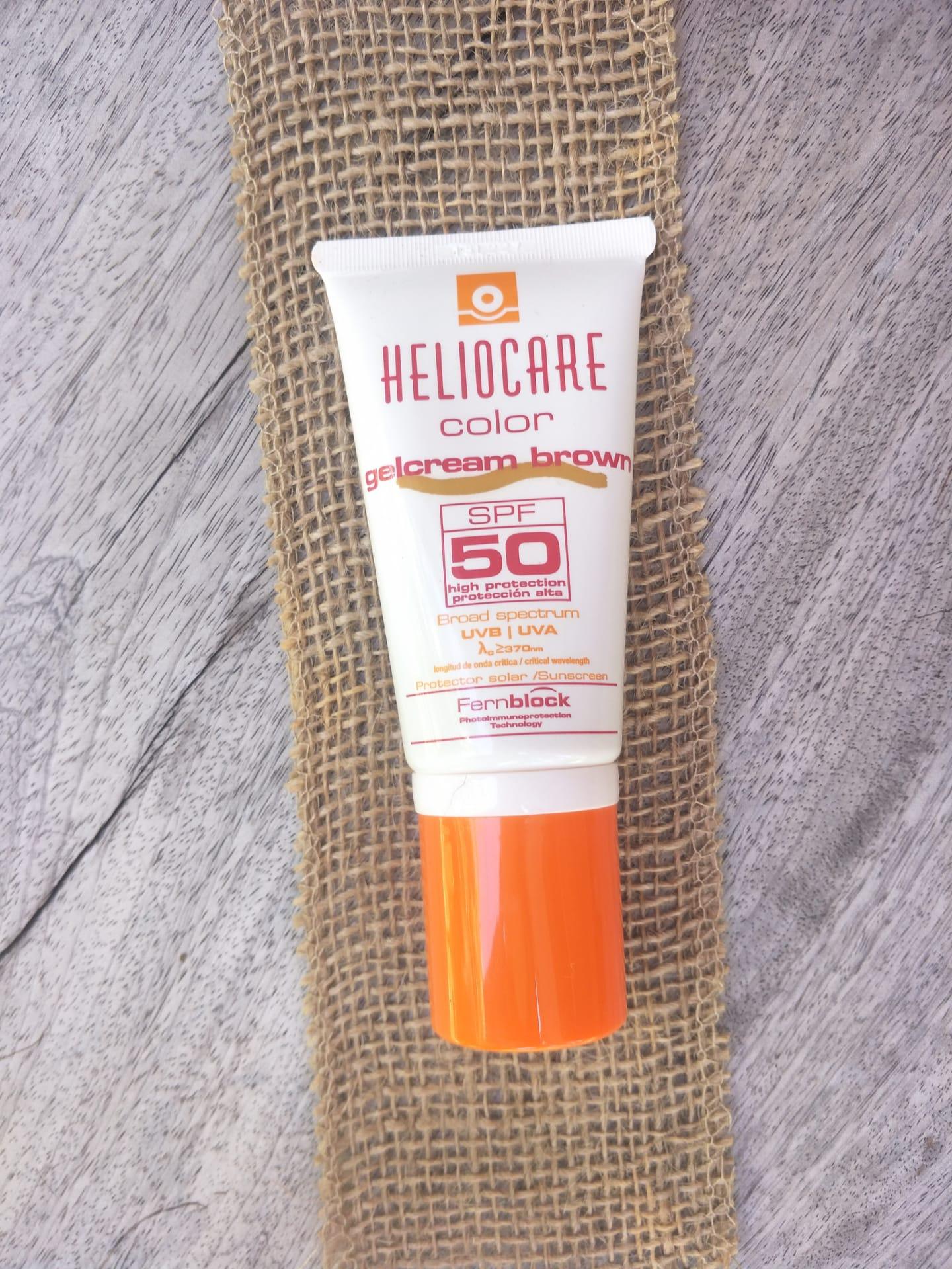 Heliocare Gelcream Colour Light SPF 50