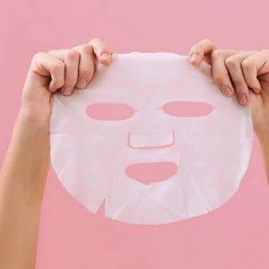 Máscara Facial de Seda - Pele Hidratada