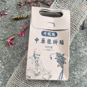 Adesivo Medicina Tradicional Chinesa - Emagrece e Detox