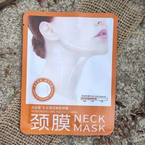 Sheet Mask para o Pescoço