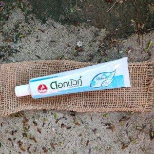 Pasta de Dentes Natural Tailandesa Azul